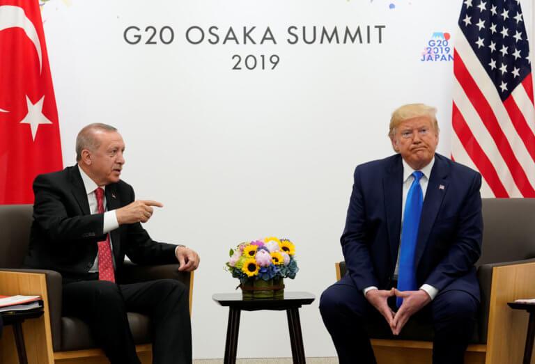 Τι ειπώθηκε στη συνάντηση Τραμπ – Ερντογάν για τους S-400