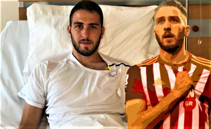Μήνυμα Φορτούνη από το Νοσοκομείο: «Θα επιστρέψω πιο δυνατός»