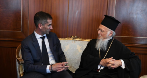 Ο νέος Δήμαρχος Αθηναίων στο Οικουμενικό Πατριαρχείο