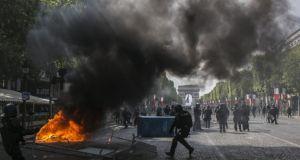 Άγρια επεισόδια στο Παρίσι: Δακρυγόνα, 152 συλλήψεις