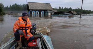 Ρωσία: Τουλάχιστον 14 νεκροί από πλημμύρες στο Ιρκούτσκ!