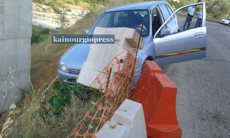 Εκτροπή αυτοκινήτου στην Καμαρούλα – Κινητοποίηση Αστυνομίας και Π.Υ.