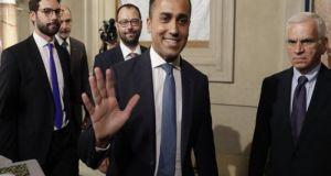 Συμφωνία για κυβέρνηση Πέντε Αστέρων και κεντροαριστεράς στην Ιταλία