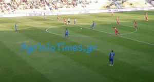 SL1 – Τέλος πρώτου ημιχρόνου: Παναιτωλικός (0-0) Α.Ο. Ξάνθη