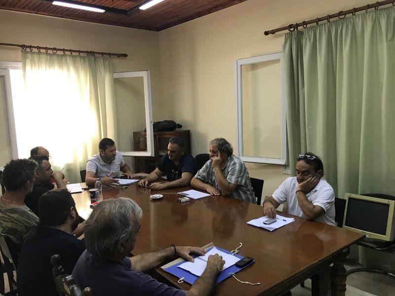 Η πρώτη συνεδρίαση του νέου συμβουλίου της Κοινότητας Παναιτωλίου
