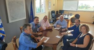 Συνάντηση του Δημάρχου Κώστα Λύρου με το Προεδρείο της Α'…