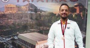 Χάλκινο μετάλλιο για τον Αγρινιώτη Αιμοκαθαιρόμενο αθλητή Μάριο Μαρκόπουλο