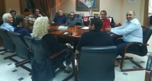 Συνάντηση του ΕΚΝΔ με το Δήμαρχο Ναυπακτίας