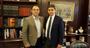 Συνάντηση του Υφυπουργού Αθλητισμού με τον Δημήτρη Κωνσταντόπουλο