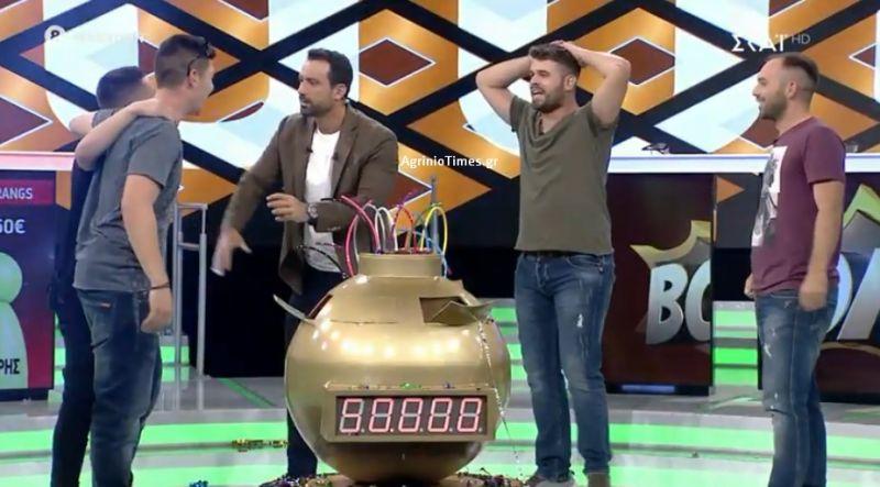 ΣΚΑΪ – «Boom»: Ήρθαν από τη Ναύπακτο οι «Boomerangs» και κέρδισαν τα 50.000 ευρώ (Φωτό)