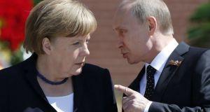 Επικοινωνία Πούτιν – Μέρκελ για τον αγωγό Nord Stream 2