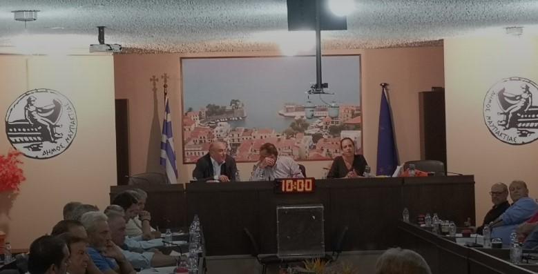 Συνεδριάζει τη Δευτέρα το Δημοτικό Συμβούλιο Ναυπακτίας