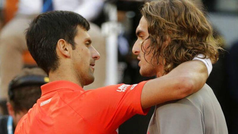 Τένις: Μονομαχία Τσιτσιπά-Τζόκοβιτς στα προημιτελικά του τουρνουά της Σανγκάης