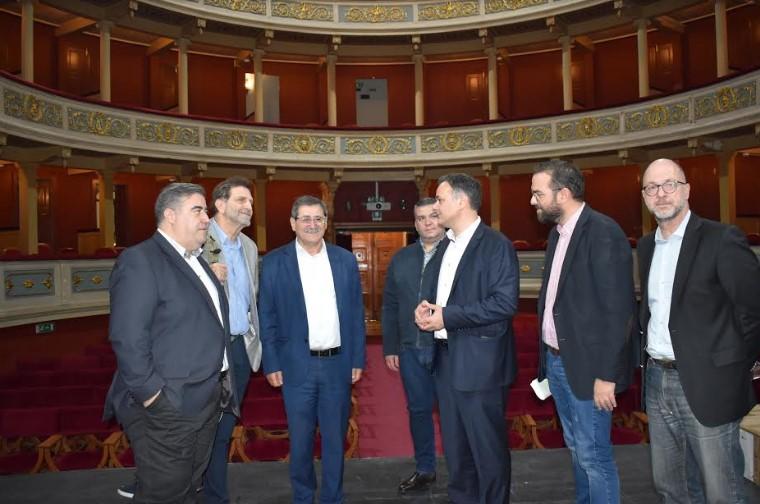 Συνάντηση του Δημάρχου Πατρέων με τον Γ.Γ. του Υπουργείου Πολιτισμού