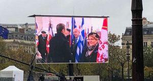 Ημέρα Ανακωχής στη Γαλλία: Το στιγμιότυπο που ξεχώρισε