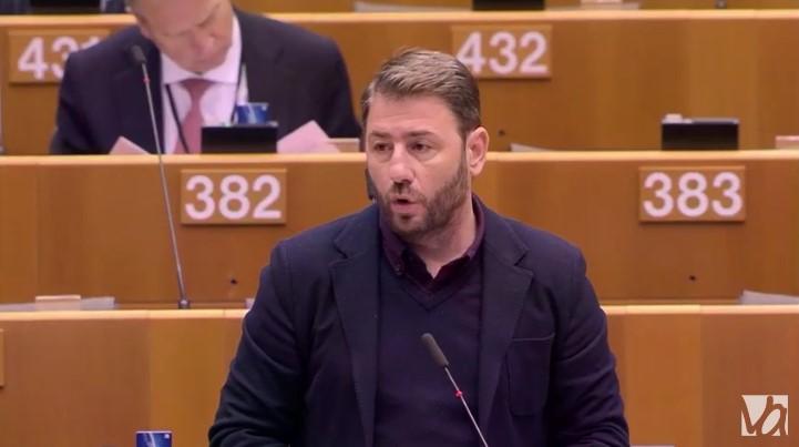 Ν. Ανδρουλάκης: Η αποτυχία στη διαχείριση του Προσφυγικού θα κλιμακώνεται (Βίντεο)