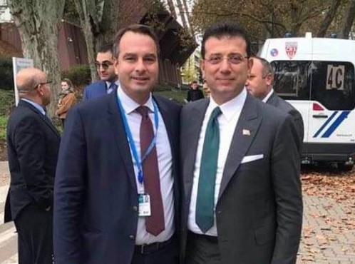 Συνάντηση Παπαθανάση με τον «Έλληνα» Δήμαρχος της Κωνσταντινούπολης