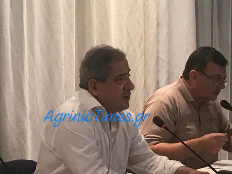 Ο Σταύρος Καμμένος για τα προβλήματα των εργαζομένων του Δήμου Αγρινίου