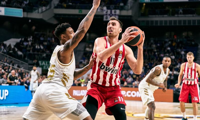 EB: Κατώτερος των περιστάσεων παρουσιάστηκε ο Ολυμπιακός στη Μαδρίτη
