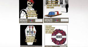 Τα σκίτσα του Charlie Hebdo για τους νεκρούς στρατιώτες που…