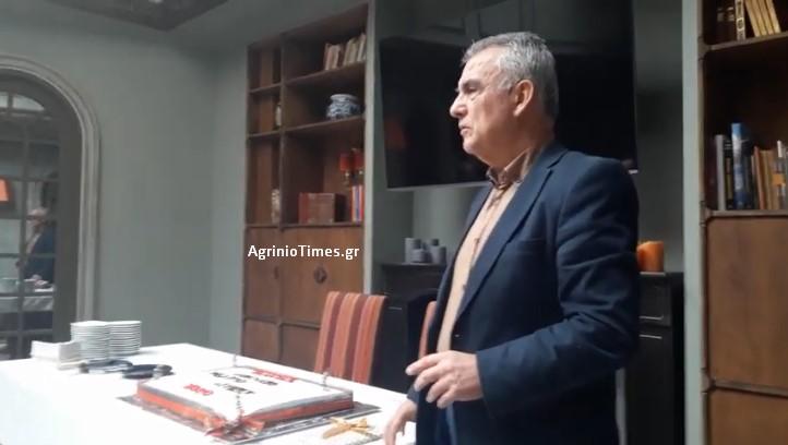 Το AgrinioTimesTV στην κοπή πίτας του Ανοιχτού Θεάτρου Αγρινίου