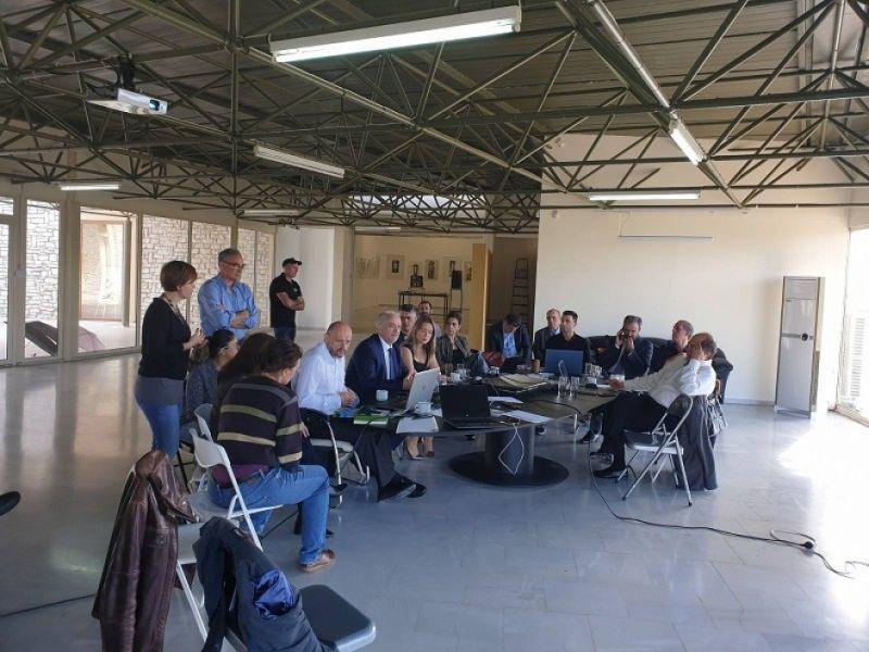 Συνάντηση στο πλαίσιο του προγράμματος για το οικομουσείο Αιτωλικού
