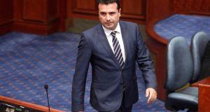 Εξελίξεις στα Σκόπια: Ο Ζόραν Ζάεφ υπέβαλε την παραίτηση της…
