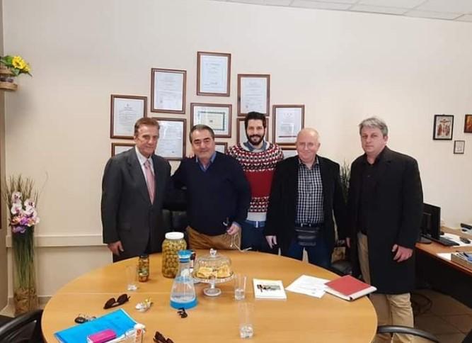 Ο Πρόεδρος του Ελληνοβουλγαρικού Επιμελητηρίου στην Αιτωλοακαρνανία