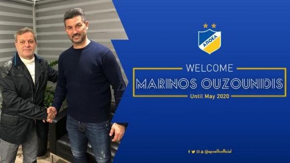 Και επίσημα στον Α.Π.Ο.Ε.Λ. ο Μαρίνος Ουζουνίδης!