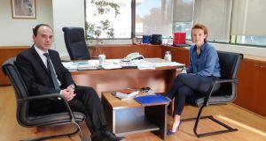 Συναντήσεις του Λάμπρου Δημητρογιάννη στο Υπουργείο Περιβάλλοντος