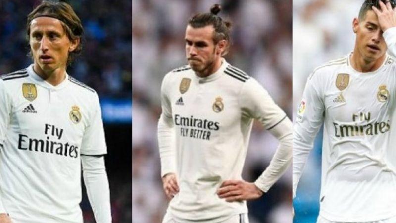 Ρεάλ Μαδρίτης: Πέντε παικταράδες στην πόρτα εξόδου