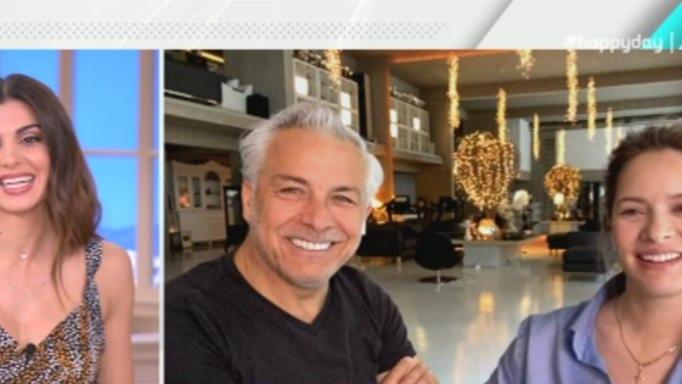 Χάρης Χριστόπουλος και Αννίτα Μπραντ επιβεβαίωσαν ότι περιμένουν παιδί (Βίντεο)