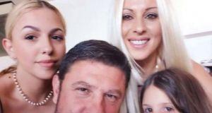 Νίκος Χαρδαλιάς: Η σύζυγος του Αμφιλοχιώτη δημοσίευσε οικογενειακές φωτό