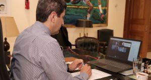 Τηλεδιάσκεψη Αυγενάκη ενόψει της σταδιακής επανεκκίνησης του Αθλητισμού