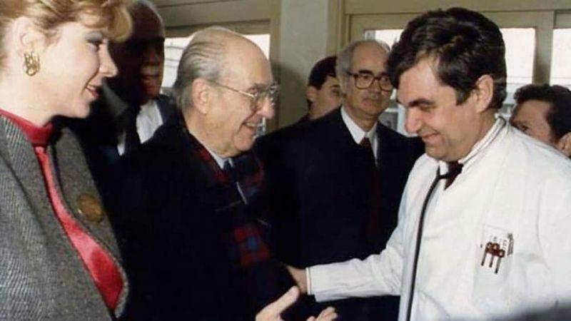 Δήμητρα Παπανδρέου: Το συγκινητικό αντίο στο Δημήτρη Κρεμαστινό