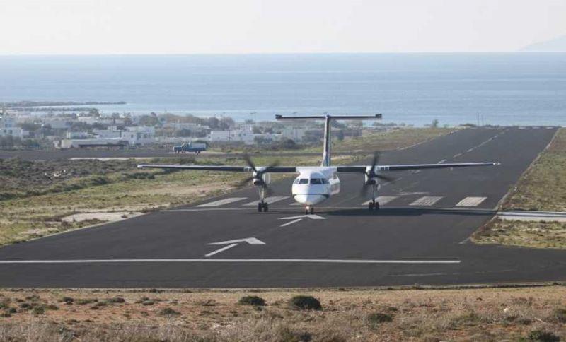 Έτοιμo το αεροδρόμιο του Ακτίου να υποδεχτεί  τις διεθνείς πτήσεις – Επίσκεψη Παπαγεωργίου