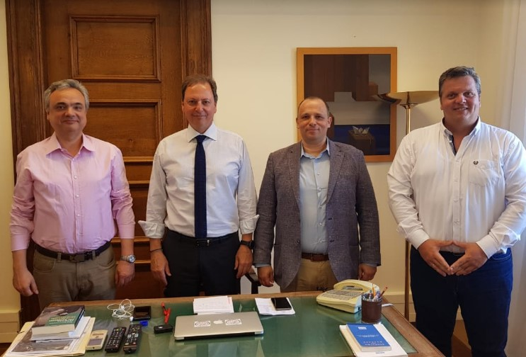 Συνάντηση Σπήλιου Λιβανού με την Π.ΟΜ.ΕΝ.Σ.