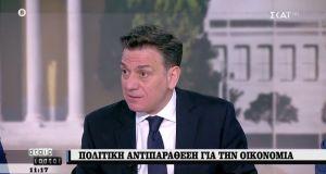 Θάνος Μωραΐτης: «Έχουμε κυβέρνηση του λαϊκισμού, της υποκρισίας και της…