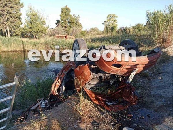 Τρομακτικό τροχαίο στην Εύβοια – Νεκρός 23χρονος (Εικόνες σοκ)