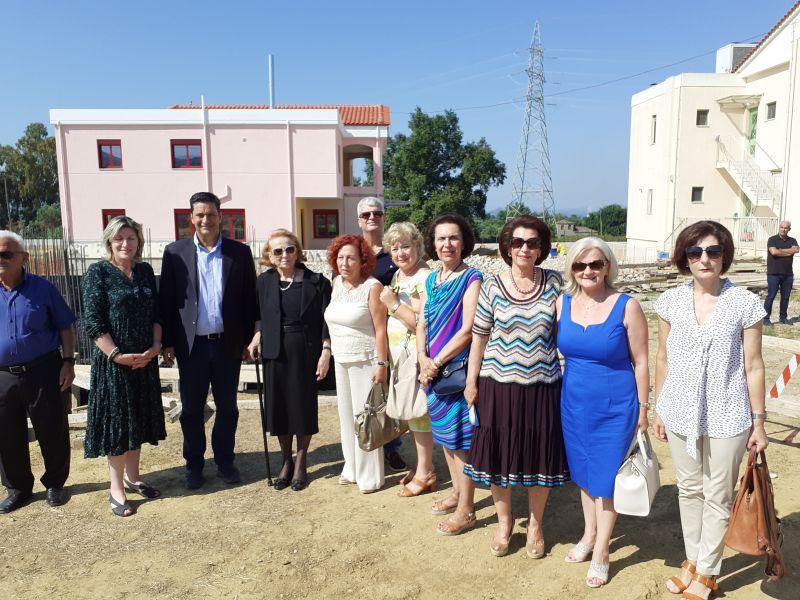 Αγρίνιο: Θεμελίωση 3ης Στέγη Υποστηριζόμενης Διαβίωσης τουΕργαστηρίου «Παναγία Ελεούσα» (Φωτό)