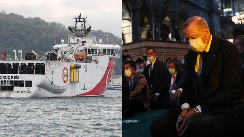 Νέο κρεσέντο φραστικών προκλήσεων από Ερντογάν και Οκτάι