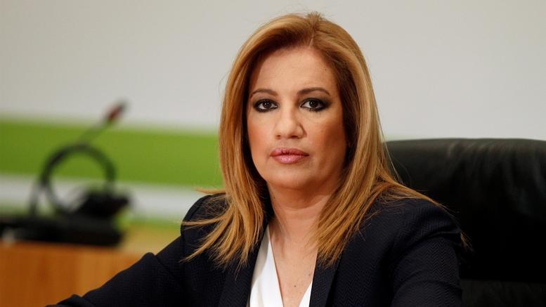 Γεννηματά: Η Ελλάδα είναι δίπλα στον Λίβανο
