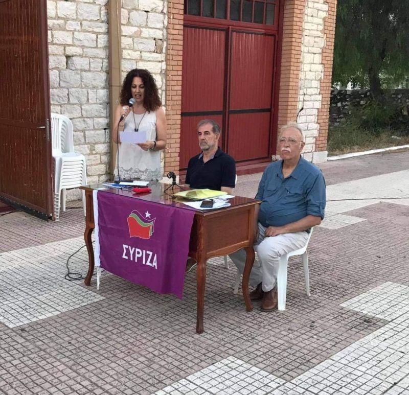 ΣΥ.ΡΙΖ.Α. – Προοδευτική  Συμμαχία Αιτωλ/νίας:  Η εκδήλωση με τον Δημήτρη Βίτσα (Φωτό)