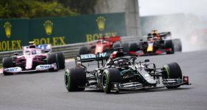 Formula 1 – GP Ουγγαρίας: Επιβλητική νίκη Χάμιλτον υπό μεικτές…
