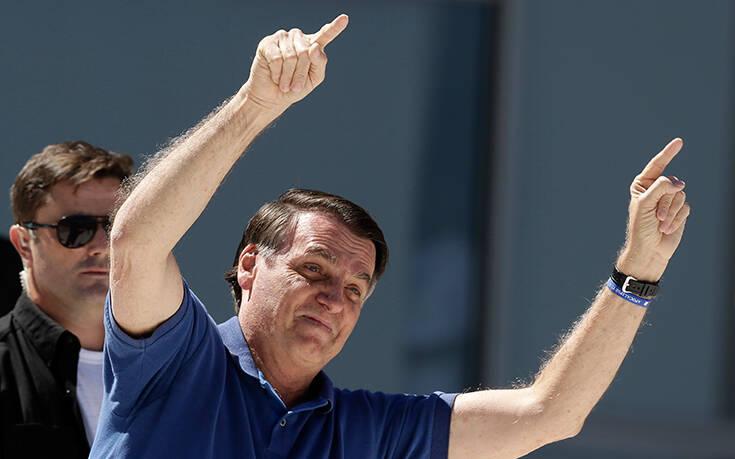 Βραζιλία: Ξανά θετικός σε κορωνοϊό διαγνώστηκε ο πρόεδρος Μπολσονάρου