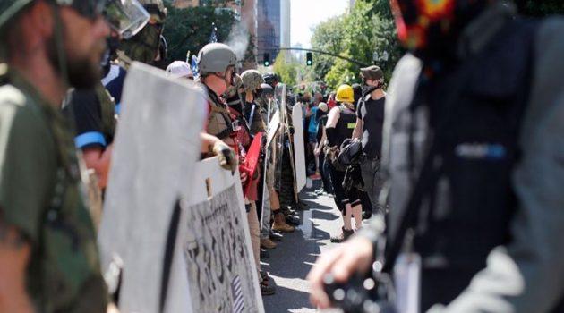 Η.Π.Α.: Εντολή για τη διάλυση διαδήλωσης έξω από κτίριο του Πόρτλαντ