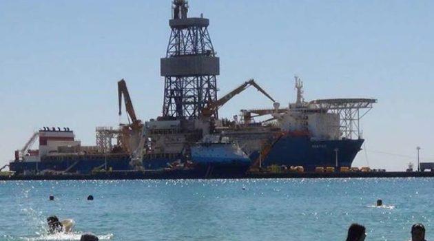 Έτοιμο να ξεκινήσει παράνομη γεώτρηση το τρίτο γεωτρύπανο της Τουρκίας