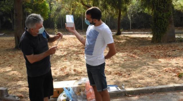 Η Αστρονομική Εταιρεία «Ωρίων» στα καλοκαιρινά Camp του Δήμου Πατρέων