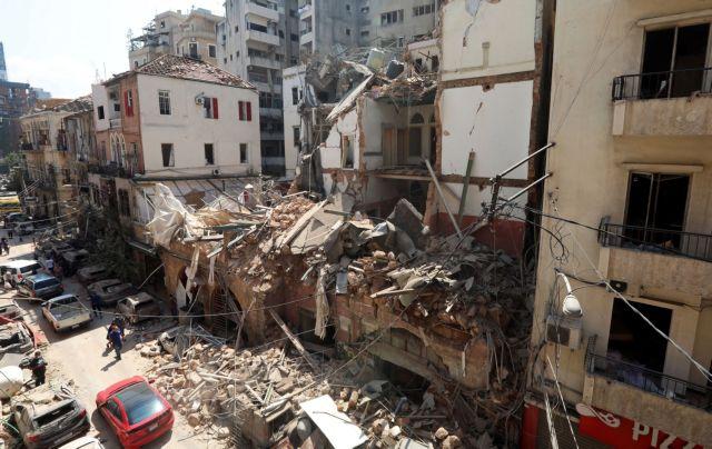 Καταστράφηκε το 50% της Βηρυτού – Πάνω από 300.000 άστεγοι