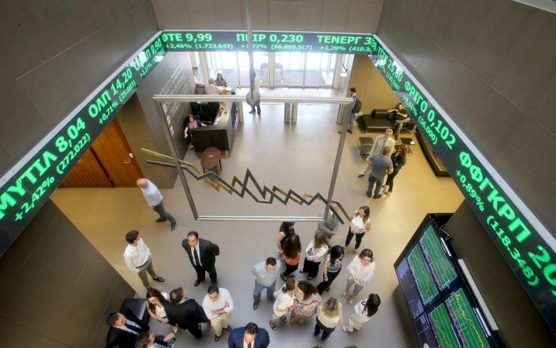 Χρηματιστήριο: Μεγάλη πτώση 2,42%